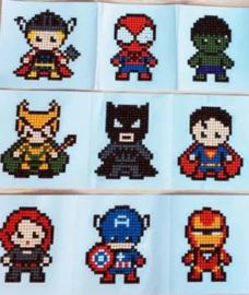 Sticker Diamond Painting superhelden