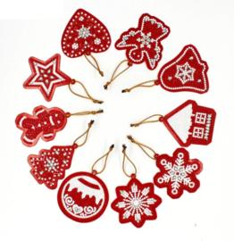 setje hangers voor in de kerstboom 10st