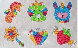 Sticker Diamond Painting fabelachtige stickertjes