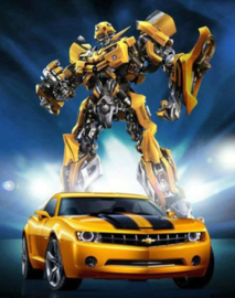 Full diamond painting  Transformers Bumblebee 50 x 70 cm