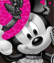 Full Diamond painting Minnie Mouse 20 x 25 cm