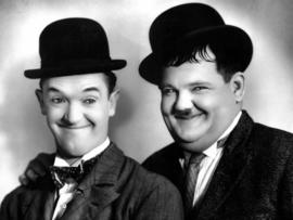 Full diamond painting  Laurel & Hardy 30 x 40 cm