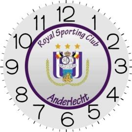 Klok Anderlecht 65 x 65 cm