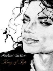 Full diamond painting Michael Jackson 25 x 30 cm