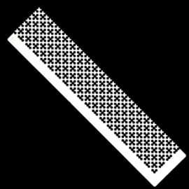 Diamond painting latje - heerser -  +- 650gaatjes - Ronde steentjes