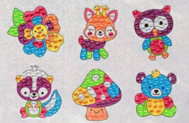 Sticker Diamond Painting fabelachtige stickertjes 3