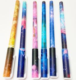 Diamond painting pen met 'thema: de ruimte'