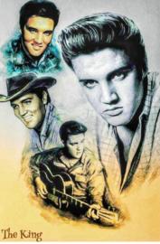 Full diamond painting Elvis Presley 40 x 50 cm