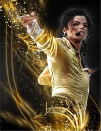 Full Diamond Painting Michael Jackson  30 x 40 cm