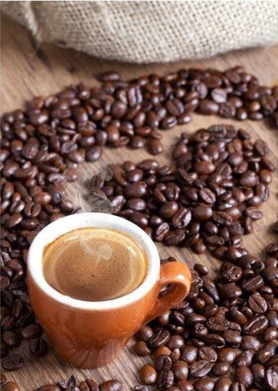 Full Diamond Painting Koffie met hartje 20 x 25 cm