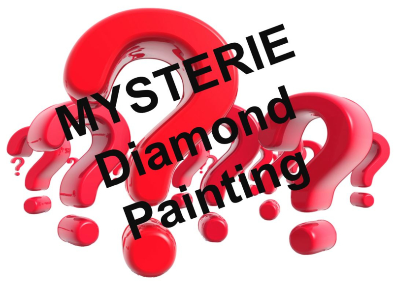 Full Diamond painting Mysterie painting 30 x 30 cm