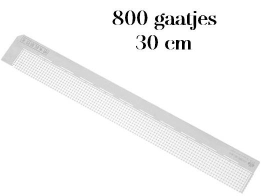 Diamond painting latje  - heerser - 800 gaatjes - ronde steentjes