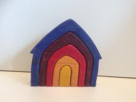 regenboog huisje