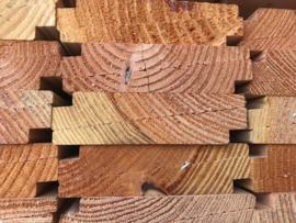 douglas zweeds rabat/bevelsiding 1/2,5x18 cm