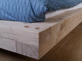eiken houten bed