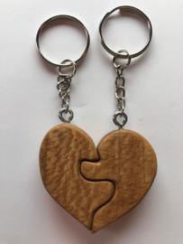 sleutelhangers hart