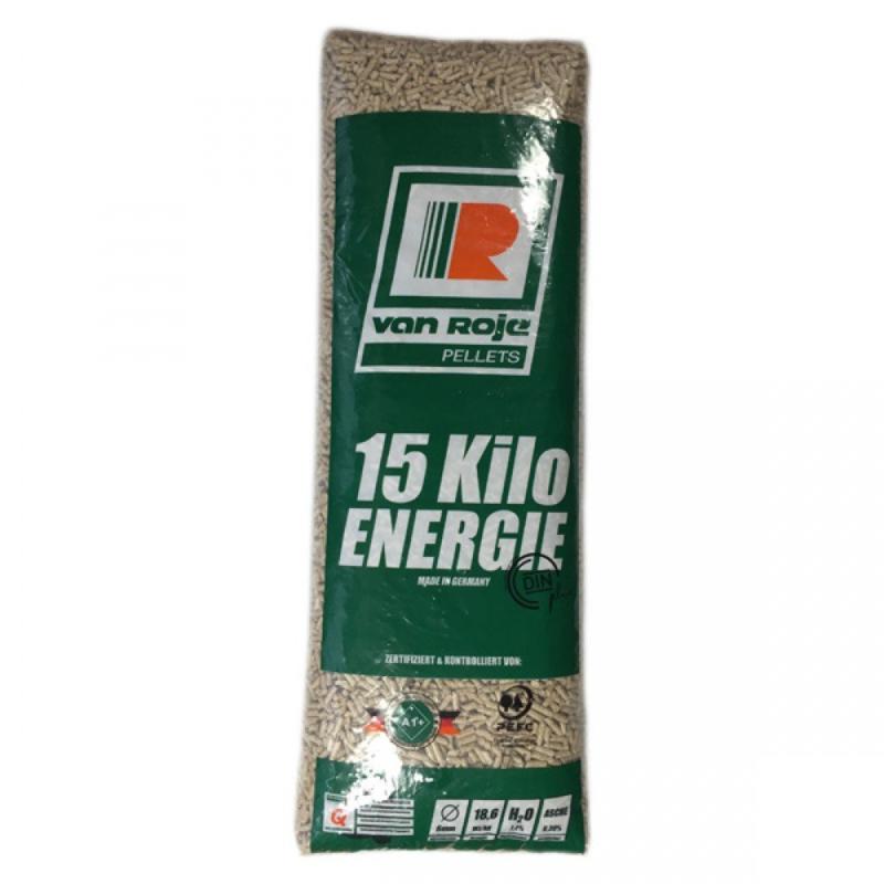 pellets per zak van 15 kilo