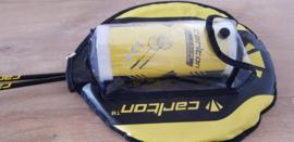 Badminton rackets set van 2 inclusief 3 shuttles