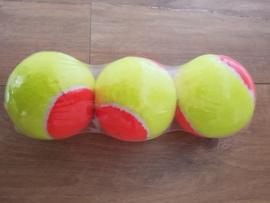 zachte tennisbal set van 3