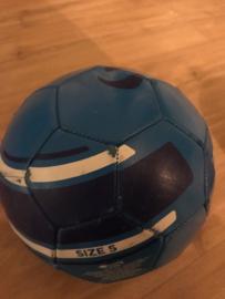 Voetbal blauw maat 5