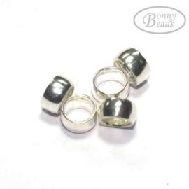 Zilveren kraal SP 0084