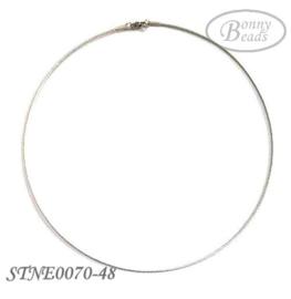 RVS omega spang STNE0070-48 cm