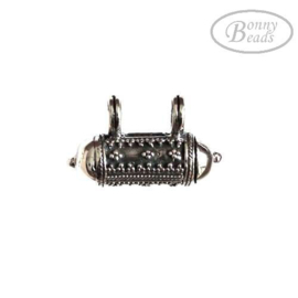 Zilveren ashanger PB 0705