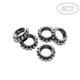 Zilveren kraal BD 0625
