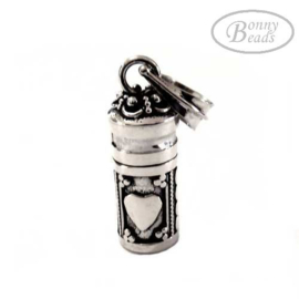 Zilveren ashanger Hart PB 0180