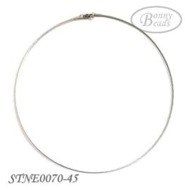 RVS omega spang STNE0070-45 cm