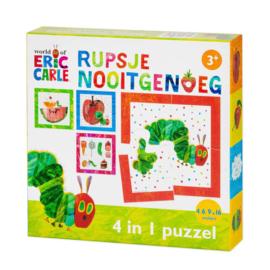 Rupsje Nooitgenoeg 4-in-1 puzzel