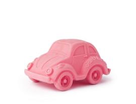 Oli&Carol bad- en bijtspeeltje auto roze