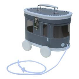 Tramkoffertje grijs