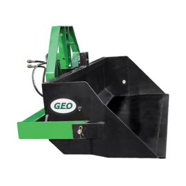 GEO grondbak 120 hydraulische kiep