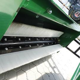 Veegmachine voor Quad