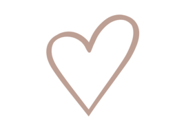 Hart | Rosé Gold FolieDruk