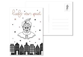 Liefs van Piet | Rosé Gold FolieDruk