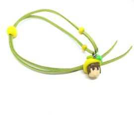 Groene skwairlie ketting