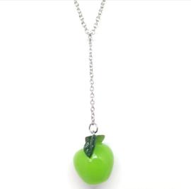 Groene Y-vorm dames ketting