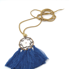 Blauwe IBIZA ketting