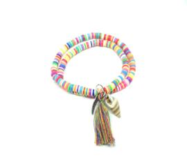 Wikkel afrikaanse armband