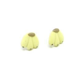 Kleine gele oorknopjes