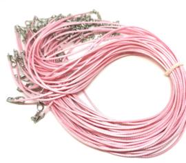 Roze waxkoord
