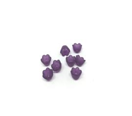 Paarse kleine bloemetjes
