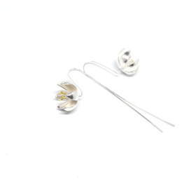 Lange oorhangers voor jouw trouwjurk - Sterling Silver 925