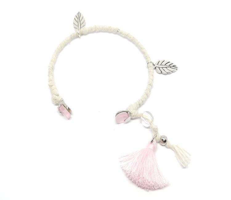 Cuff armband - Roze