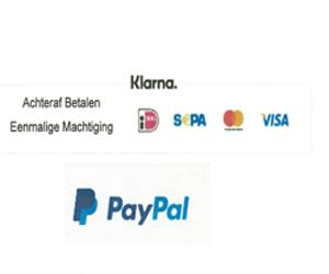 Betaalmethode PayPal en KLarna