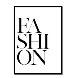 Poster A4 | Fashion White | Per 5 stuks