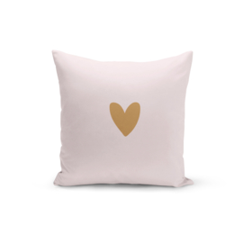 Pretty Pillow | Pink & a Heart of Gold | Per 3 stuks