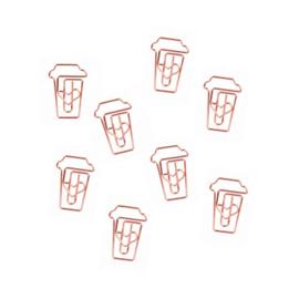 Paperclips | COFFEE Rose Gold | Per 6 doosjes